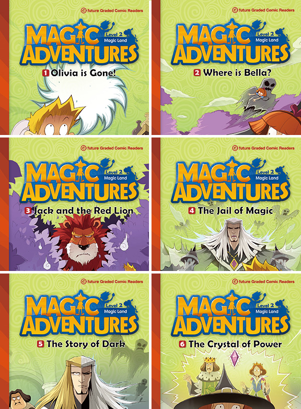 Magic Adventures - seria druga-6 sztuk