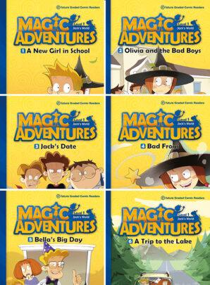 Magic Adventures - seria pierwsza-6 sztuk