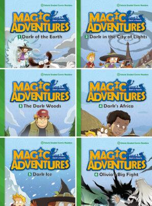 Magic Adventures - seria trzecia-6 sztuk