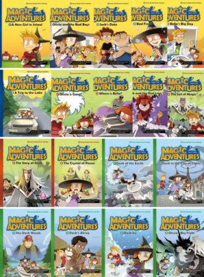 Magic Adventures- trzy serie