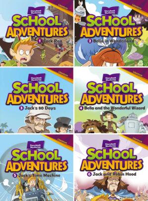 School Adventures - seria druga-6 sztuk