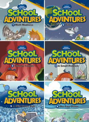 School Adventures - seria trzecia-6 sztuk