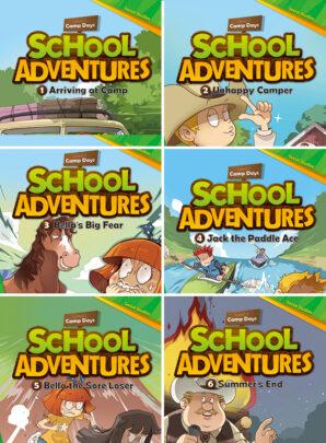 School Adventures - seria pierwsza-6 sztuk