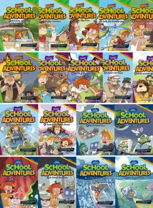 School Adventures- trzy serie